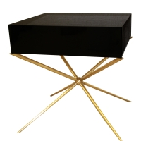 Side table Black Milan