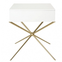 Side table Milan White